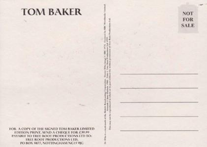 Tom-Baker-autograph-signed-doctor-who-memorabilia-dr-who-bbc-tv--Monarch-of-the-Glen-Medics-little-britain-pen-costume-postcard-official-signature
