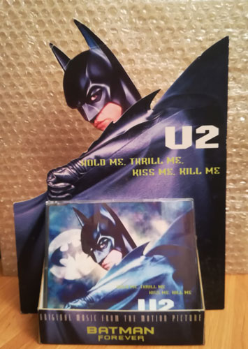U2-rock-music-memorabilia-batman-forever-song-hold-me-thrill-me-kiss-me-kill-me-cd-display-tell me now-themes