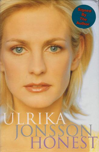 Ulrika-Jonsson-autograph-signed-TV-memorabilia-Gladiators-Shooting-Stars-TVAM-weather-girl-dog-eat-dog-sweden-swedish-autobiography-honest-memoirs-first-edition