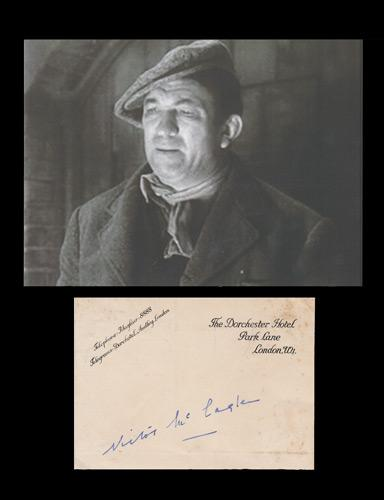 Victor-McLagen-autograph-victor-mcLagen-memorabilia-signed-Hollywood-movie-memorabilia-The-Informer-Best-Actor-Oscar-Academy-Award-What-Price-Glory-Quiet-Man-Gunga-Din