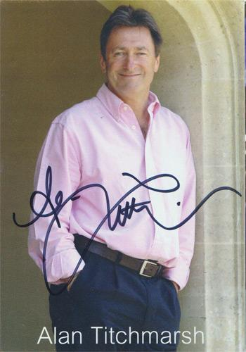 alan-titchmarsh-autograph-signed-ground-force-bbc-tv-memorabilia
