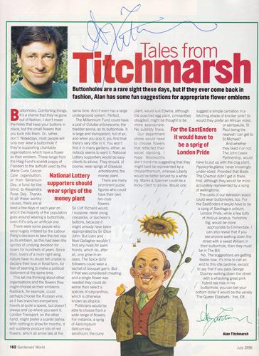 alan-titchmarsh-autograph-signed-ground-force-tv-memorabilia-gardening-magazine-chelsea-flower-show