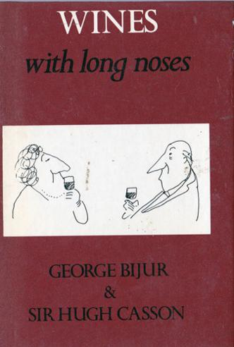 hugh-casson-autograph-book-signed-arts-architrecture-design-memorabilia-festival-of-britain-wines-with-long-noses-cartoons-personal-pleasures-royal-academy